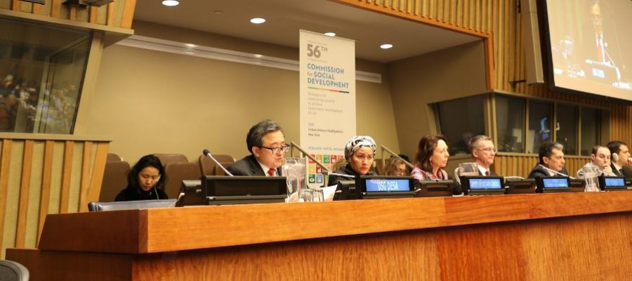 56th session of the Commission for Social Development meets in New York