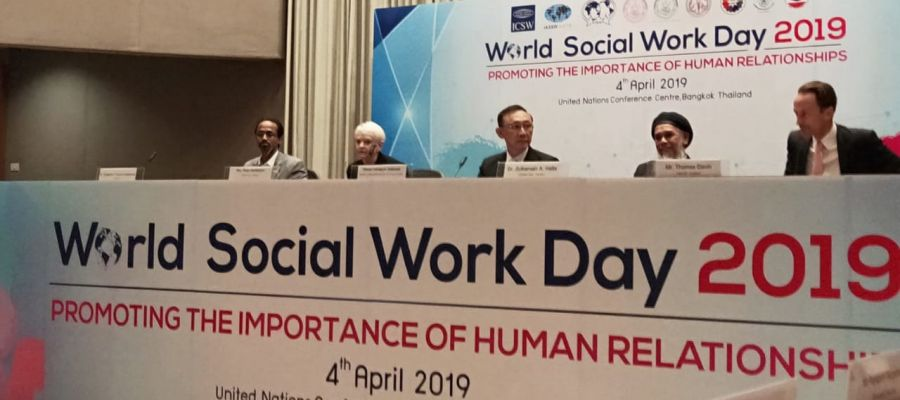 The World Social Work Day celebrated in Bangkok